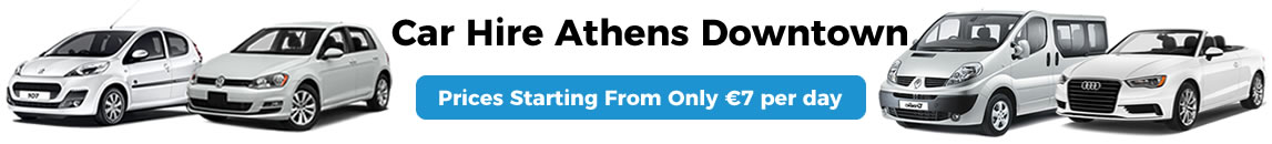Car Rental Athens Downtown