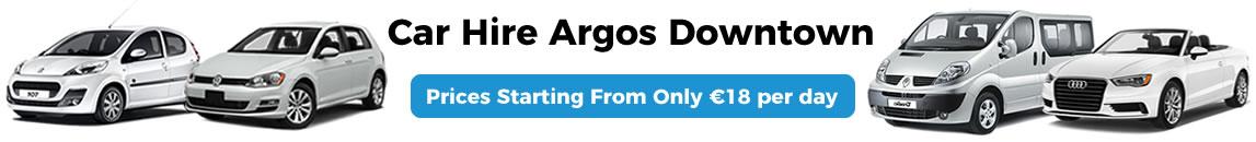Car Rental Argos Downtown