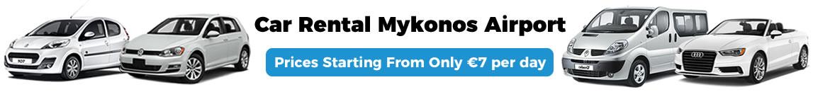 Car Rental Mykonos Airport Airport